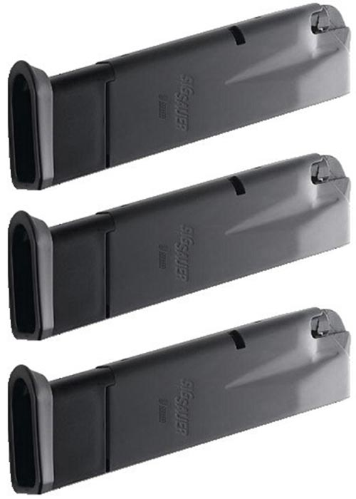 3 Pack Factory SIG SAUER P228 P229 9mm 10rd Magazine