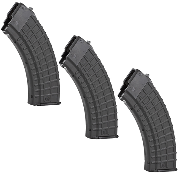 3 Pack - ARSENAL 7.62x39 10rd Circle10 Waffle Magazine for AK47