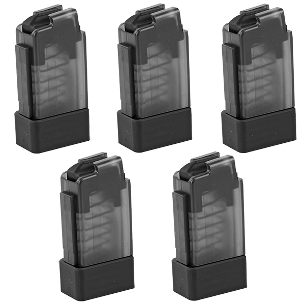 5 Pack - CZ Scorpion EVO 3 S1 Factory 9mm 10rd Clear Magazines
