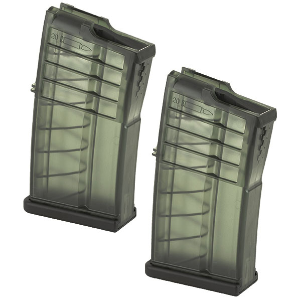 2 Pack - H&k OEM Factory .308 20rd MR762 Magazine - Click Image to Close