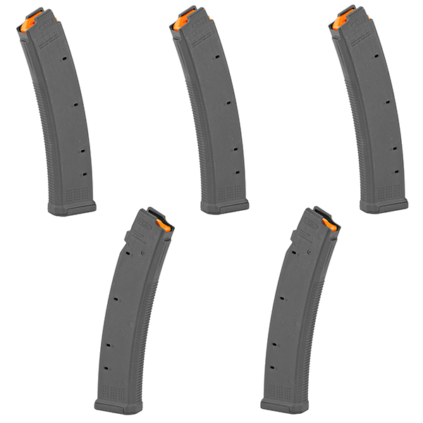 5 Pack - MAGPUL PMAG 9mm 35rd CZ Scorpion EVO S1 Black Magazines