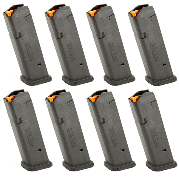 8 Pack MAGPUL PMAG GL9 9mm 17rd Magazines for GLOCK G17 Pistols