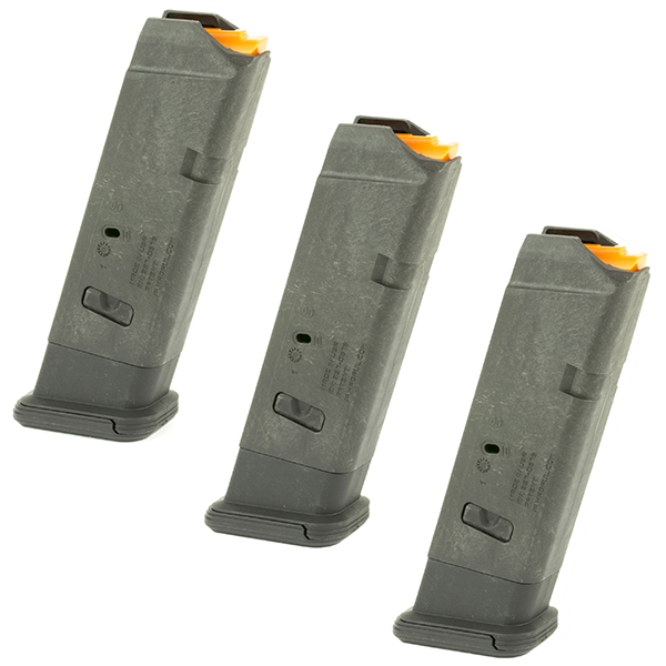 3 Pack MAGPUL GL9 10rd Magazine for Glock 17 19X 34 Pistol