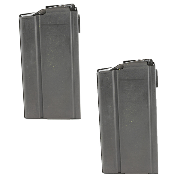 2 Pack - Springfield Armory OEM 20rd Steel M1A M14 Magazines