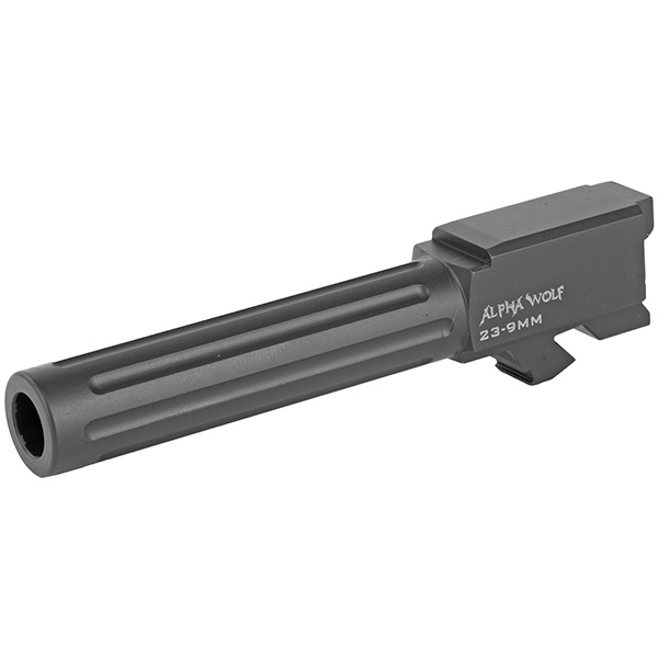 LWD ALPHAWOLF GLOCK 23 32 .40 to 9mm Conversion Stainless Barrel