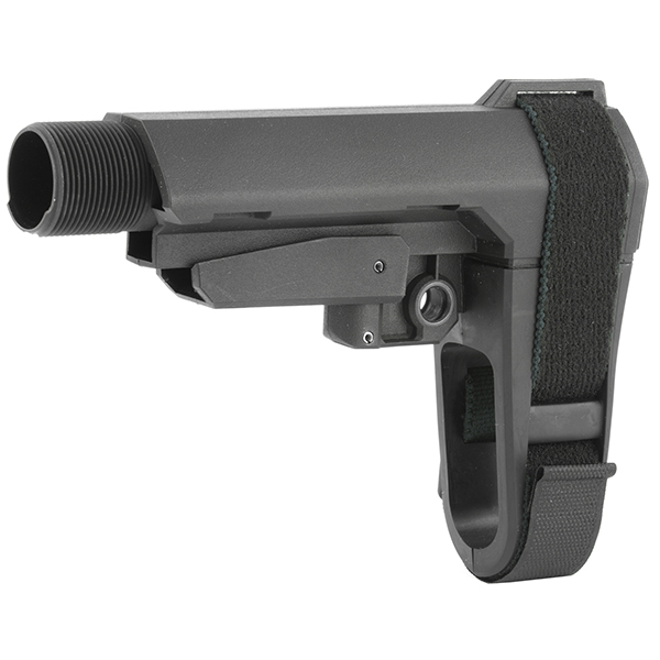 SB-Tactical SBA3 Black AR15 5-Position Pistol Stabilizing Brace