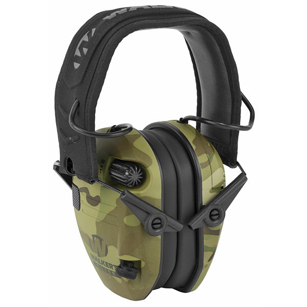 Walker's Razor Slim Electronic Earmuff Multicam Color