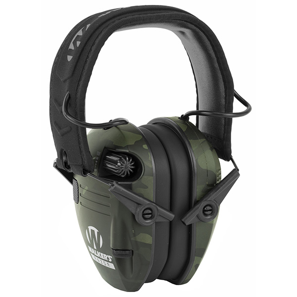Walker's Razor Slim Electronic Earmuff Multicam Black Color