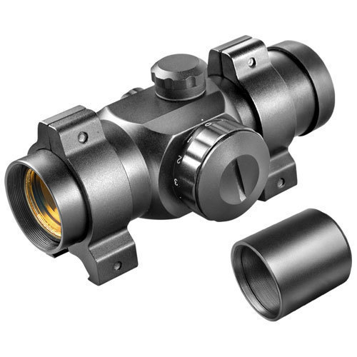 Barska 25mm Red Dot Scope,w/Weaver Rings
