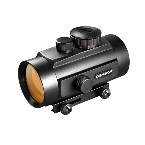 Barska 40mm Dual Color Red Dot Scope, w/Dual Size Mount