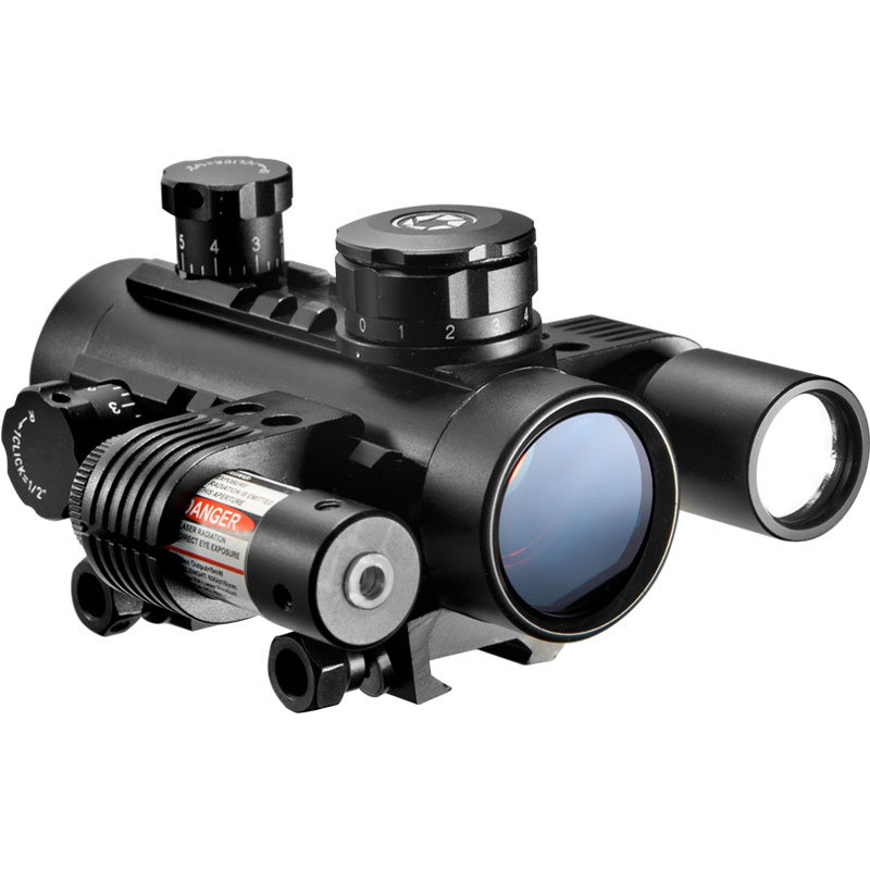 Barska 1x30 Sight w/Flashlight & Laser