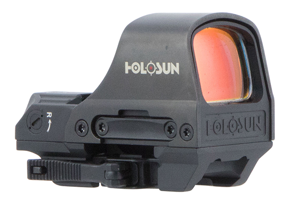 Holosun Solar + Battery Power Red Dot Scope with Picatinny Mount