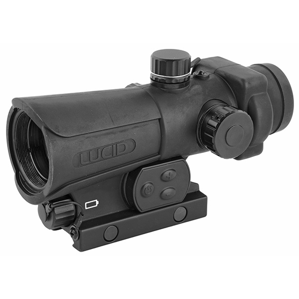 LUCID HD7 Tactical Red Dot Sight GEN3 Integral Picatinny Mount