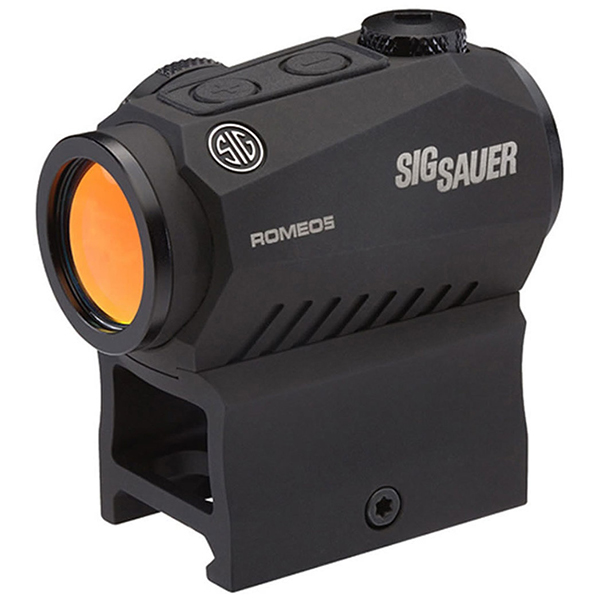 SIG ROMEO5 2 MOA 1X20 Red Dot Sight CR2032 with 2 Riser Mounts