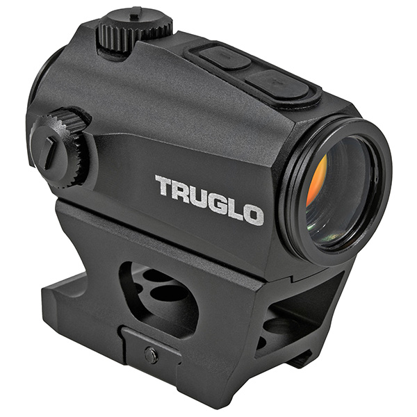TRUGLO Ignite Mini Compact Red Dot Sight 2MOA Low + Tall Mount