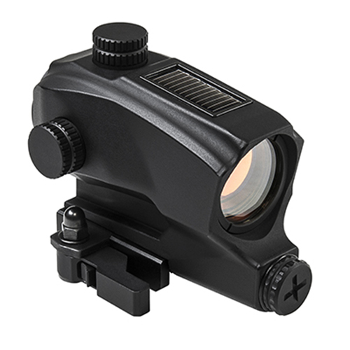 VISM SPD Solar + Battery Powered Quick Detach Red Dot Sight