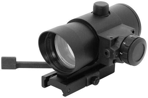 NcStar 40mm Red Dot Scope + Red Laser and Quick Detach Mount