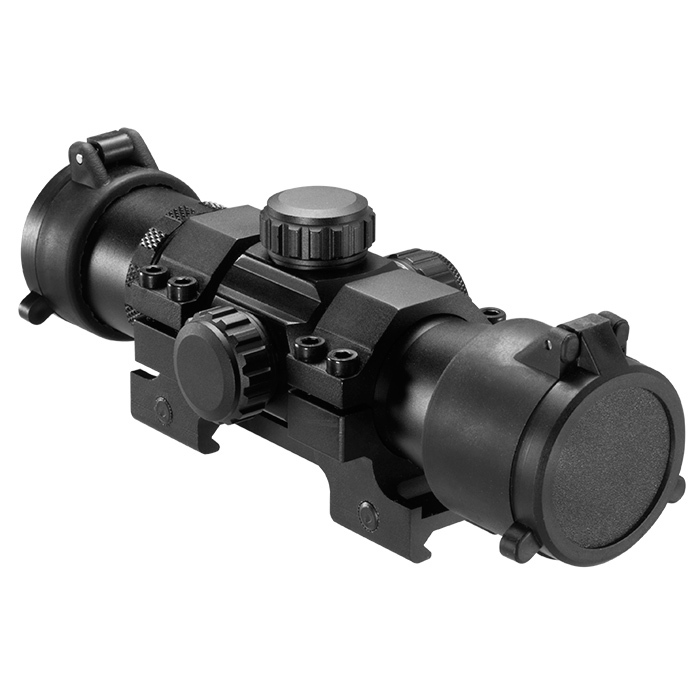 Barska Tactical 7 Inch Long Red Green Dot Scope w/ Ring Mount
