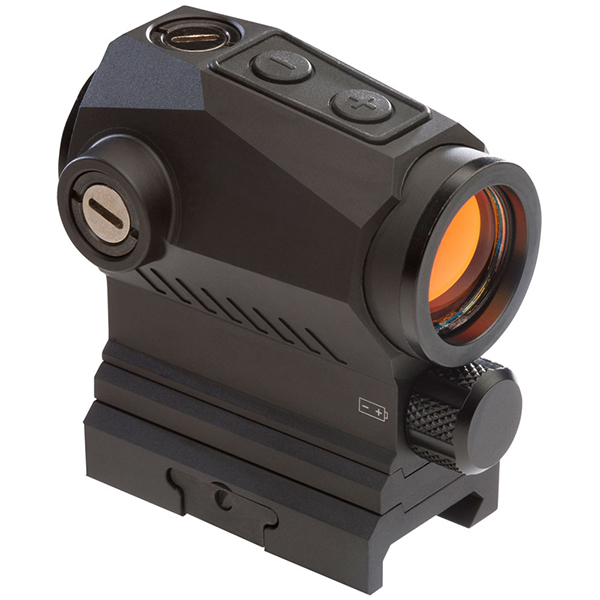 SIG ROMEO5 2 MOA 1X20 Red Dot Sight AAA Battery + 2 Riser Mounts