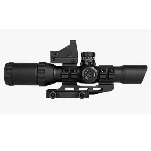 Trinity 1-4x28 Tactical Rifle Scope With Mount + Micro Dot Sight