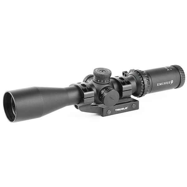 TRUGLO EMINUS 3-9X40 IR TacPlex 30mm Rifle Scope w/ APTUS Mount