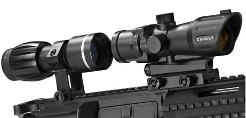 Barska 1x30mm M-16 Electro Sight with 3x30 Magnifier