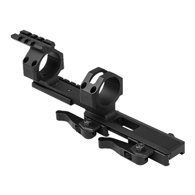 VISM 30mm Tactical Quick Detach Cantilever Scope Mount