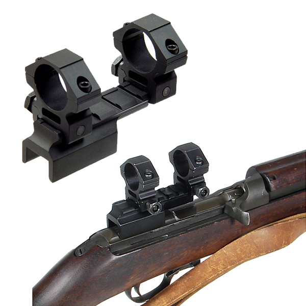 UTG M1 Carbine Scope Mount with 1 inch Picatinny Ring Mounts