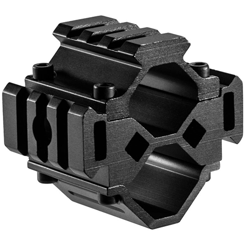 Barska 12 Gauge Shotgun Tactical Short Tri-Rail Barrel Mount