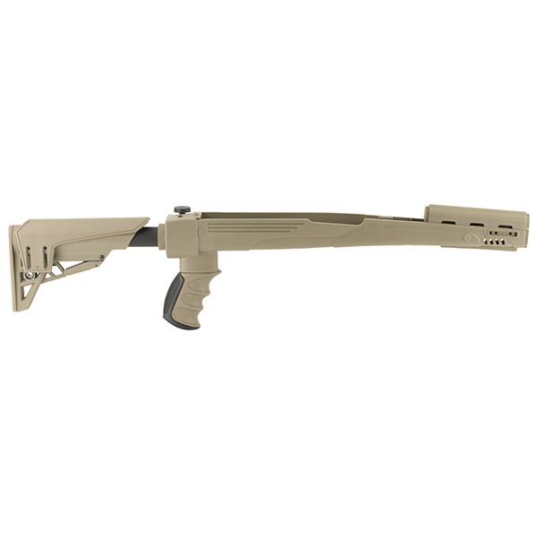 Made in USA - TactLite FDE Color Side Folding SKS Rifle Stock