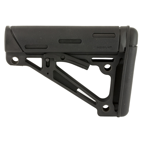 Hogue OMC Mil-Spec Collapsible AR15 Buttstock - Black Color