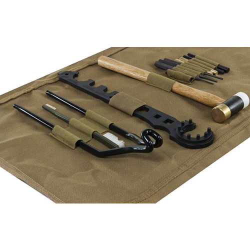 NcSTAR Armorers AR15 Tool Kit With Tan Storage / Cleaning Mat