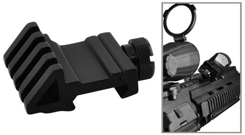 Tactical 45 Degree Offset Picatinny Accessory Rail Mount